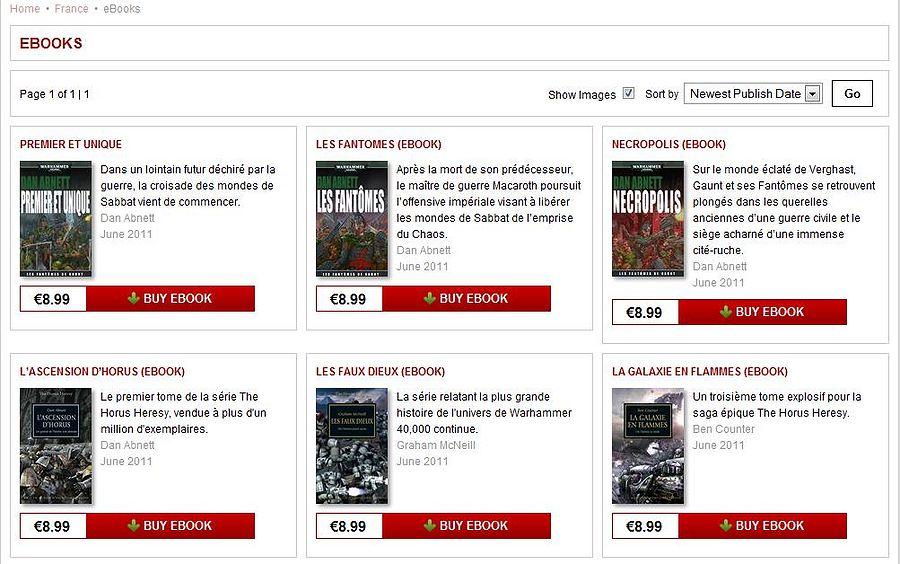 eBooks Black Library en français. 941857eBooks
