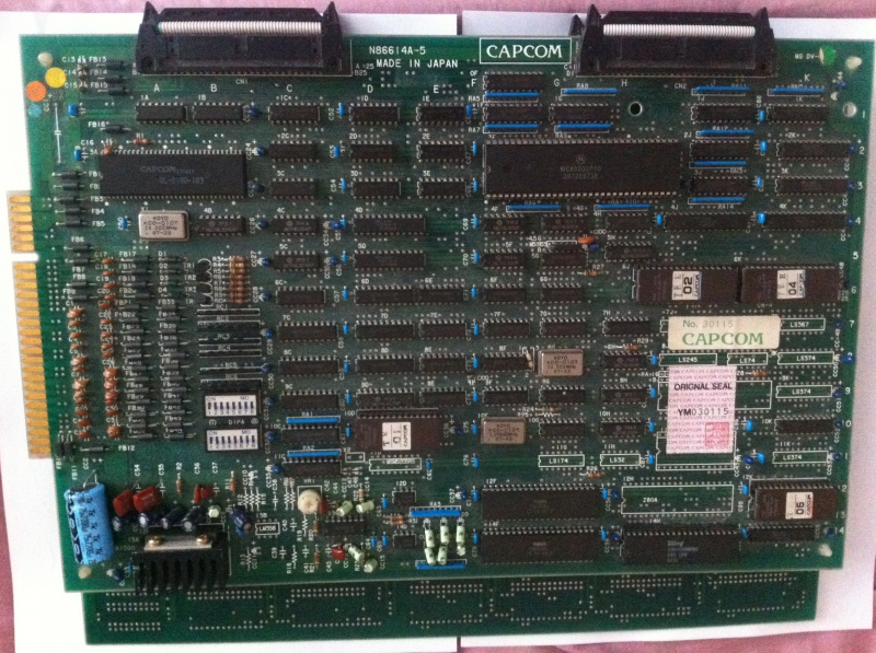 [ Pcb CAPCOM ] Pre-cps - CPS1 - CPS Q-Sound - Page 2 942555IMG06701