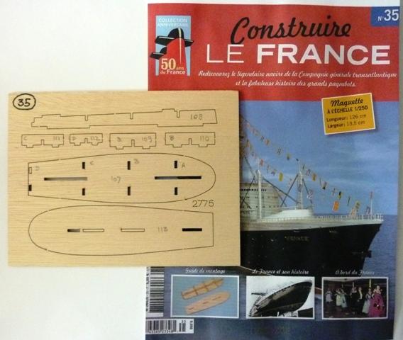 Le france  au 1/250è - hachette-Amati - Page 7 942955Fasc035r