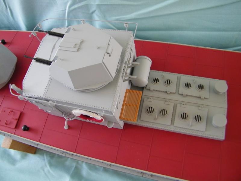 Russian gunboat Bk 1124 au 1/20e sur plan 9430931004677