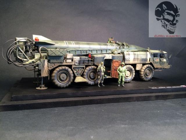 SS-1C   Scud-B  avec un Maz 543 TEL (maquette dragon 1/35) 946798IMG4473