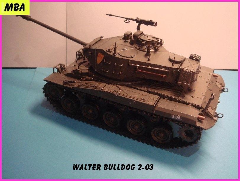 USM4143 Char Walter Bulldog au 1/35 ème AFV club 947725WalterBulldog203