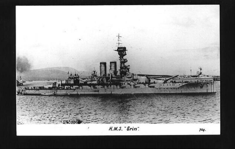 ROYAL NAVY CUIRASSE HMS ERIN  948480Erin02