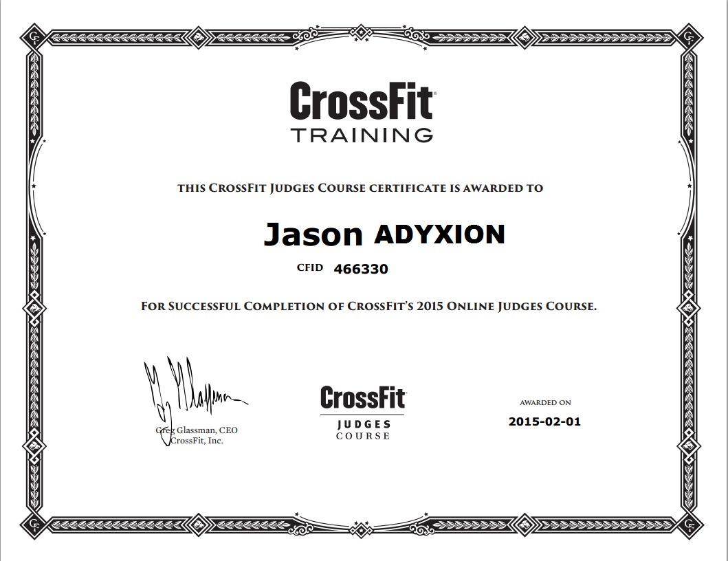 Adyxion [1m98 - 95kg - Crossfit] - Page 26 949417AdyxionJuge