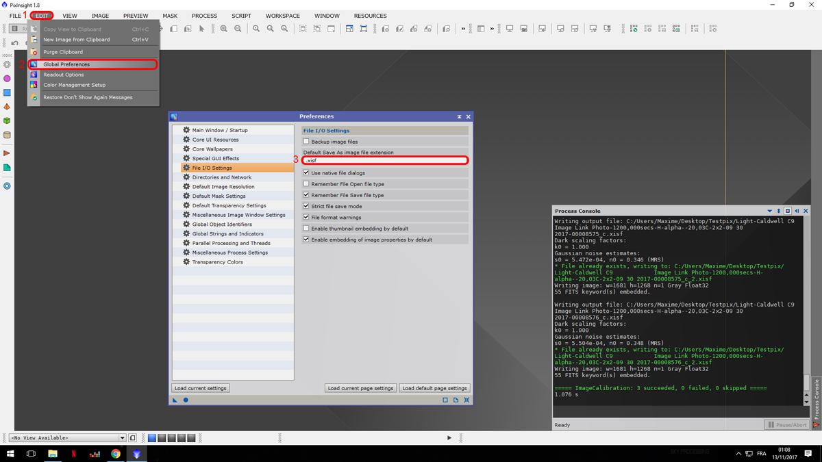 Pixinsight fichiers xisf 949541PixXisf