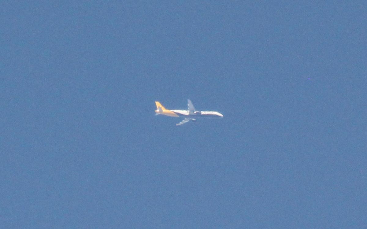 Au-dessus de la maison , proche Nice 950202IMG7033