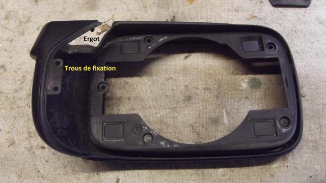 [BMW E36] Remplacement du rétroviseur extérieur 95034913coqueavantvuededrrire