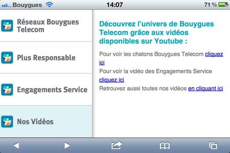 Bouygues Telecom: son site en version mobile 950378btmob3
