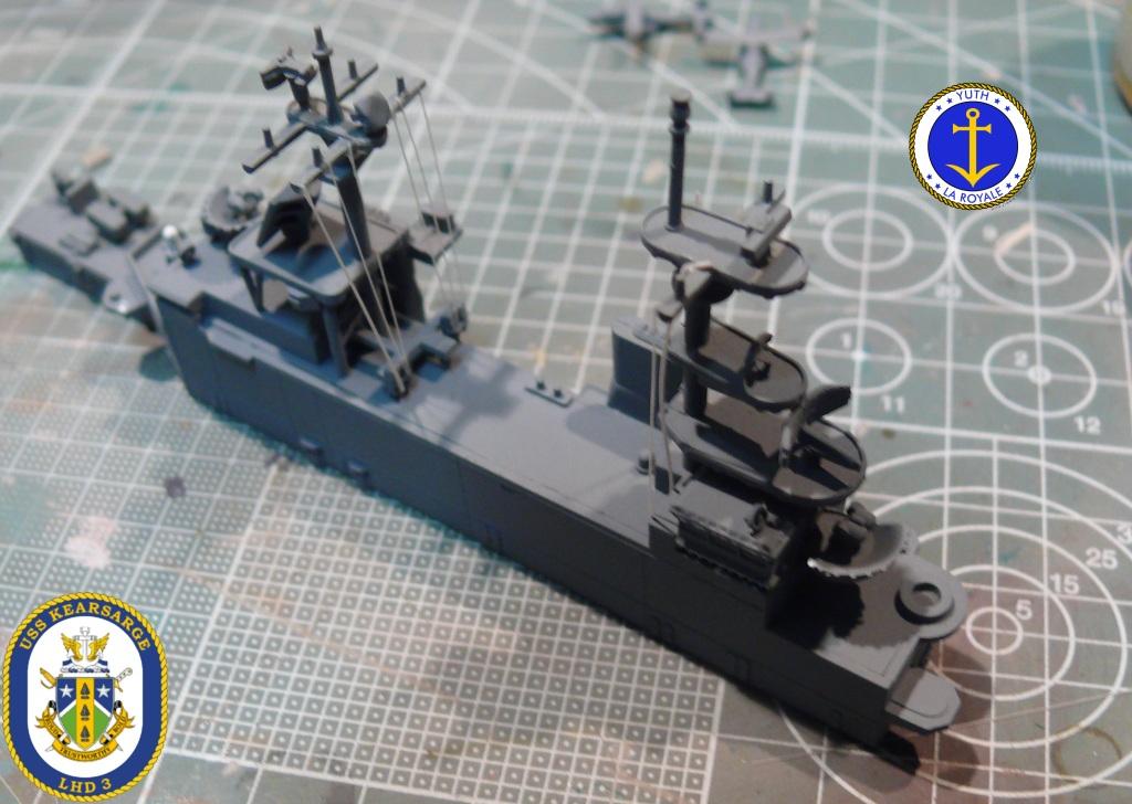 USS KEARSARGE LHD-3 1/700 REVELL 950406Kearsarge8
