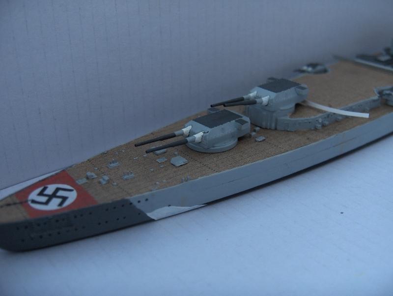 Bismarck 1/700 [Trumpeter] 950843HPIM1931