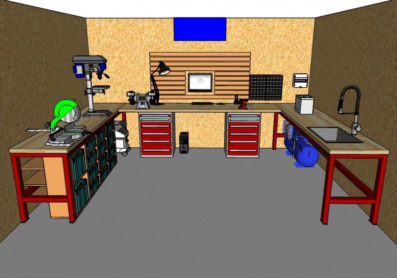 VOS ASTUCES - Optimisation de l'espace à l'atelier 950931Amnagementintrieur02