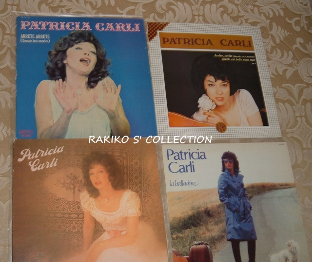 Rakiko  s' music collection  45 rpm & 33 rpm and more 951075CarliFrenchLP