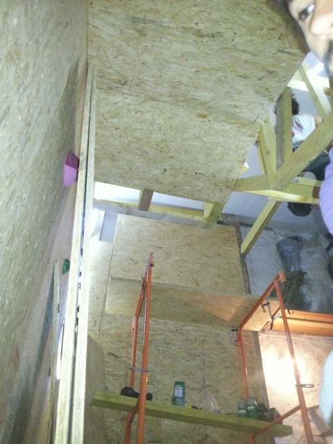 La construction de mon bloc dans le garage 95160120140924203744