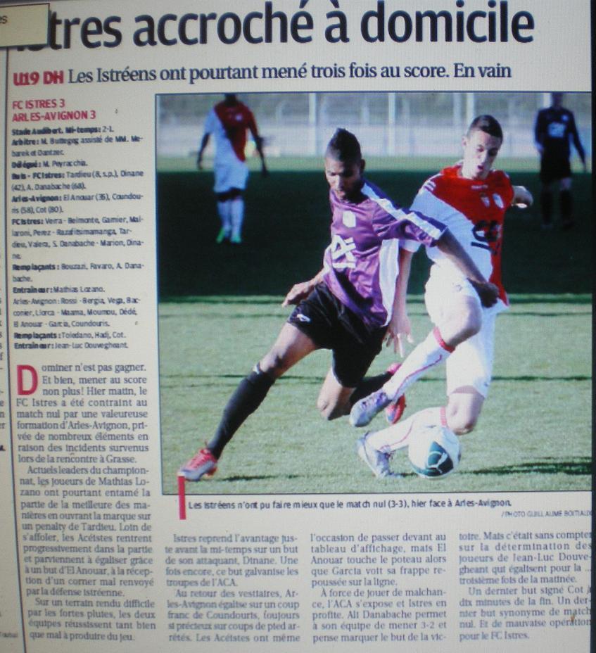 FC ISTRES B  // DHR  MEDITERRANEE  et AUTRES JEUNES  - Page 2 951930IMGP4803