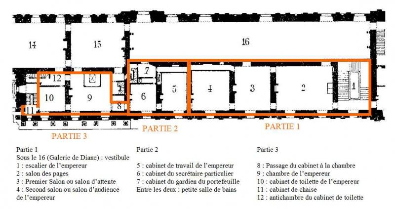 Reconstitution virtuelle du Palais des Tuileries, états Premier Empire et Second Empire 951977PLANVIDEO