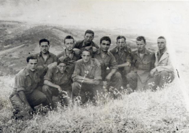 Le Bataillon de Choc 1943/1963. Photos. 952847Elbejuin444mesection4meCieDebraymilieu2merang