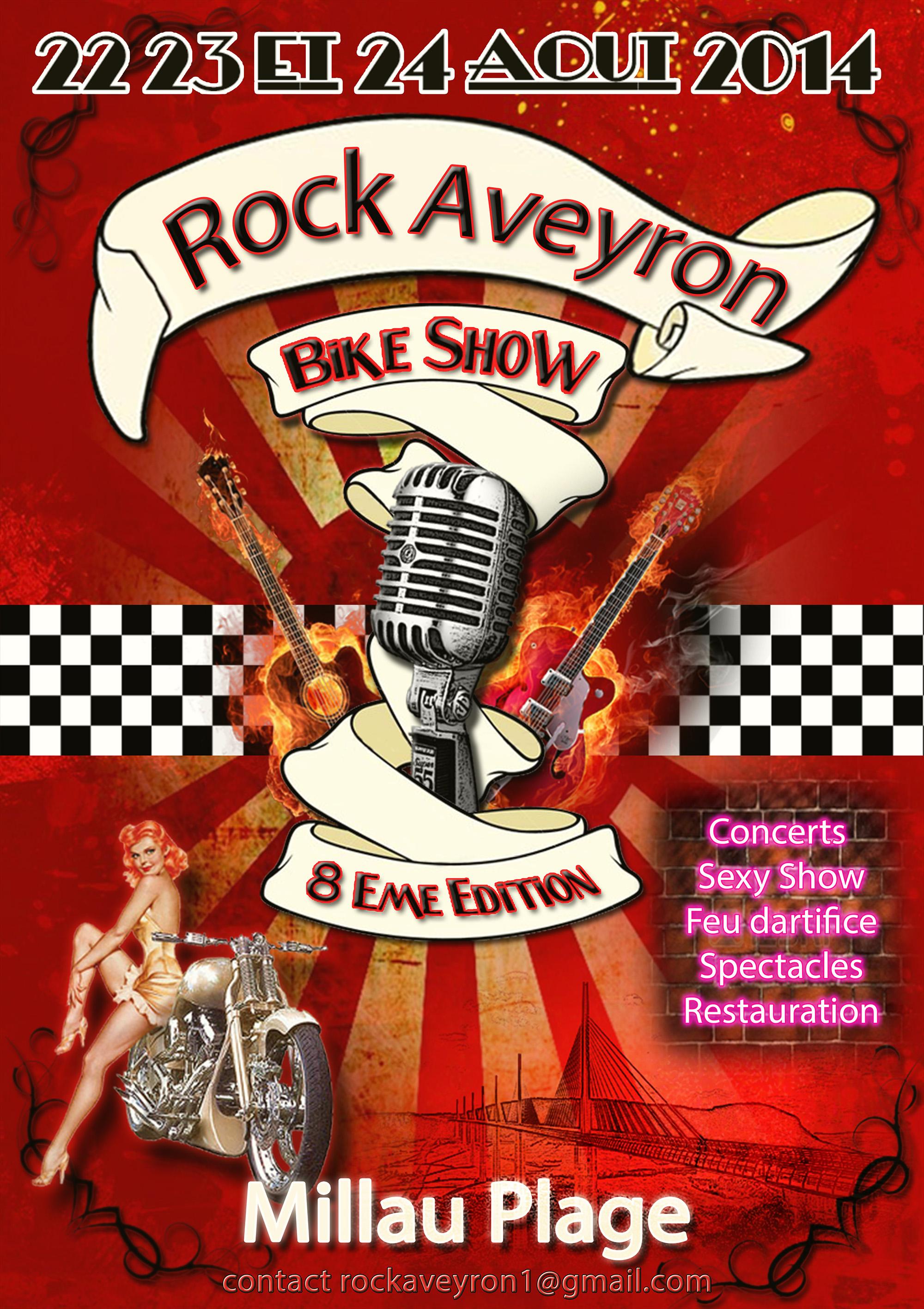 Rock Aveyron Bike Show 22-23-24/08/2014 954457affiche1