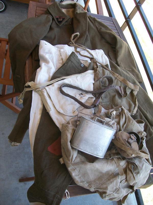 Le matériel et l'uniforme des prisonniers de guerre 9552061002162