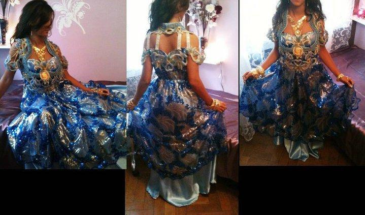 فساتين تقليدية للعروس الجزائرية-----سطايفي 955637ST3
