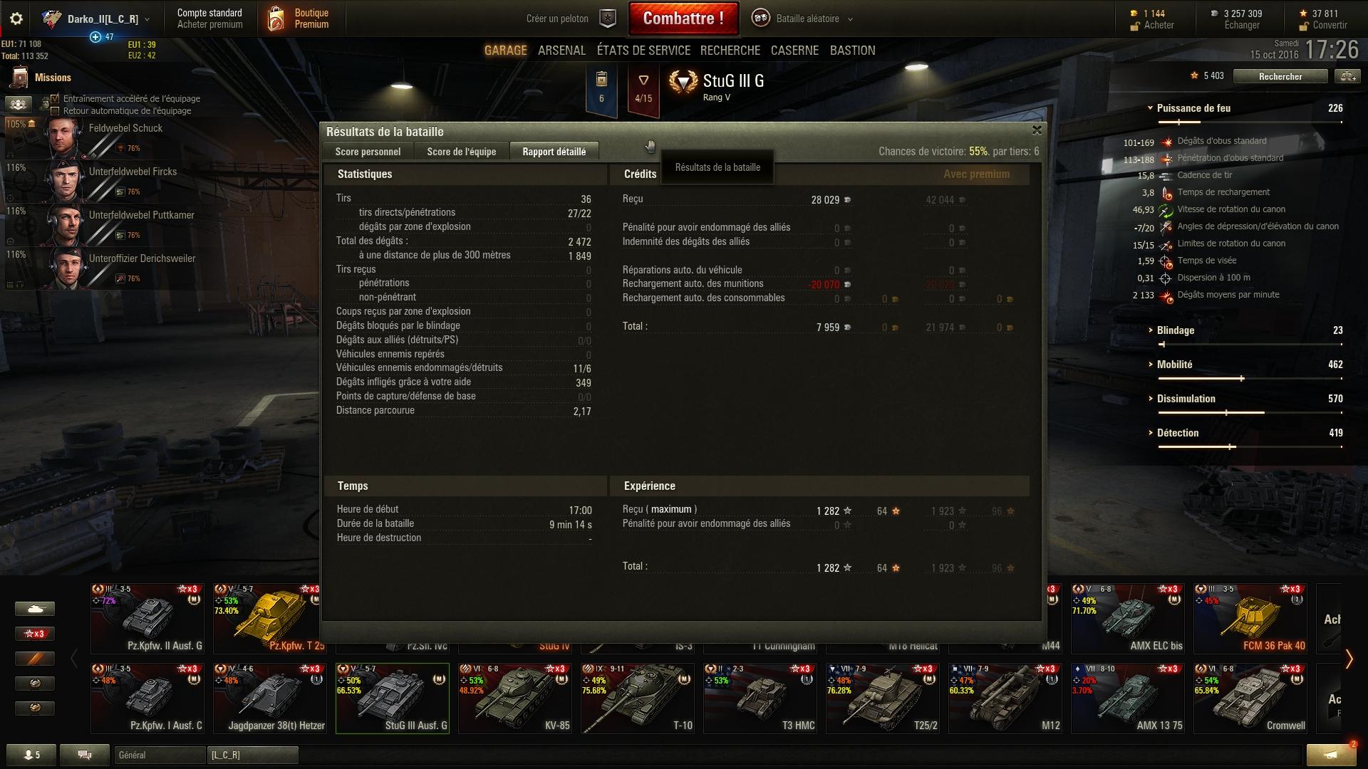 Stug III G - 2.5k dégâts - Une de mes meilleures parties depuis que je joue à WoT 955926shot010