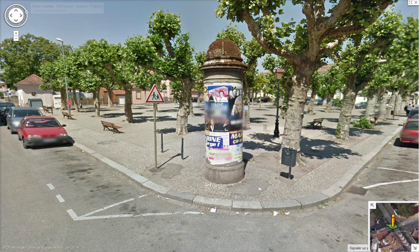 Les colonnes Morris en France 957408colonnemorrisMulhouse7