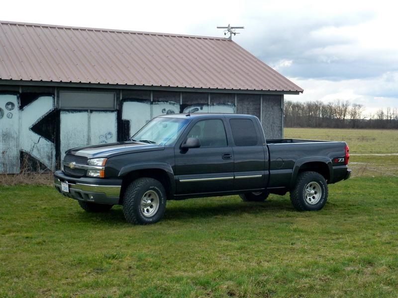 Chevrolet Silverado V8 5,3L 2003 958112P1040071