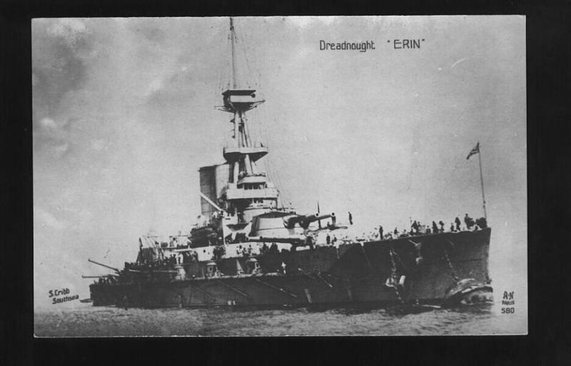ROYAL NAVY CUIRASSE HMS ERIN  958257Erin04