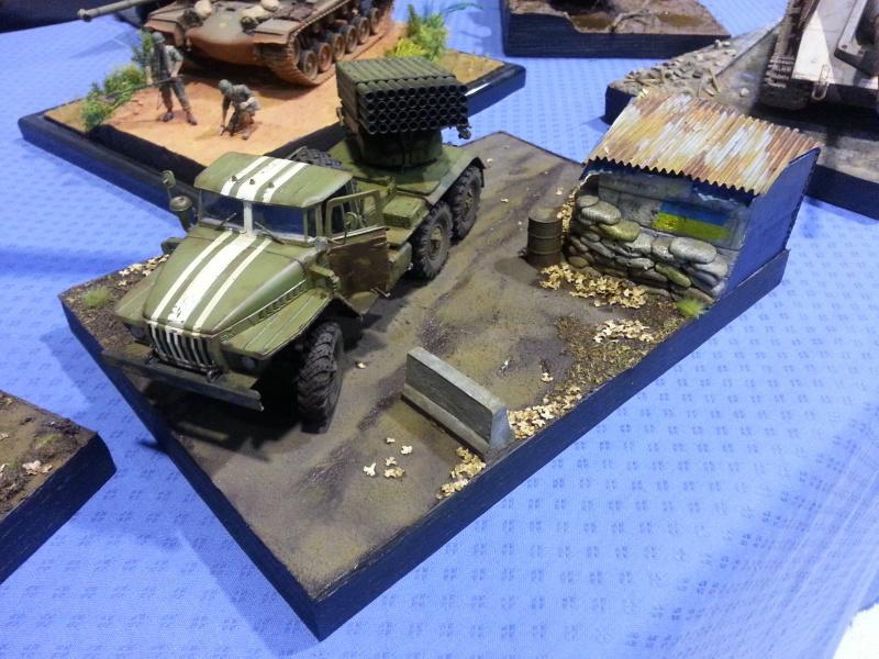 BM-21 GRAD 1/35 TRUMPETER 96029420161112173108