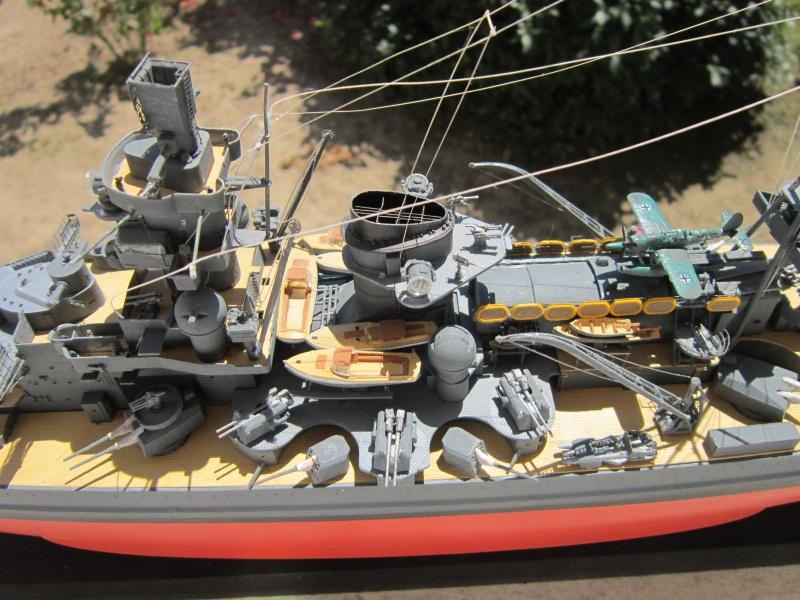 Croiseur de bataille Scharnhorst  au 1/350 de dragon - Page 10 963035IMG3155