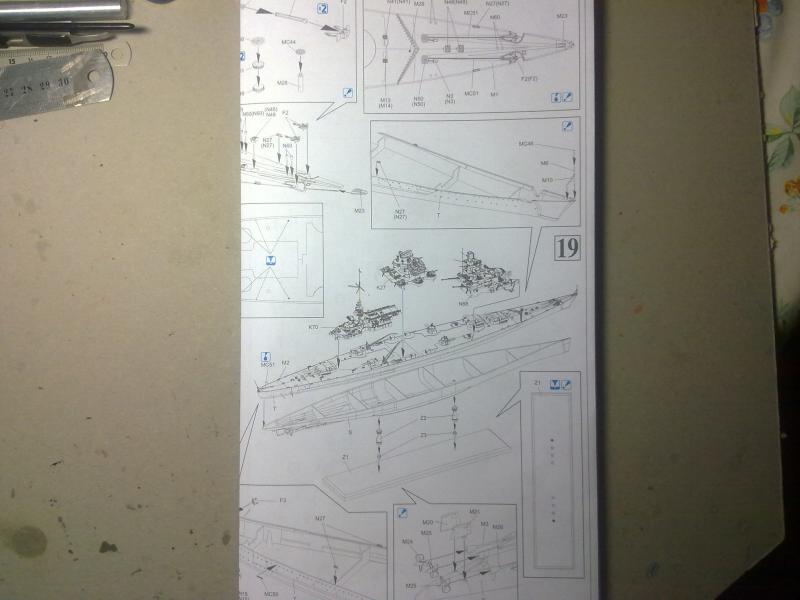 DKM Scharnhorst de  Dragon 1/350° - Page 2 96517415102010832