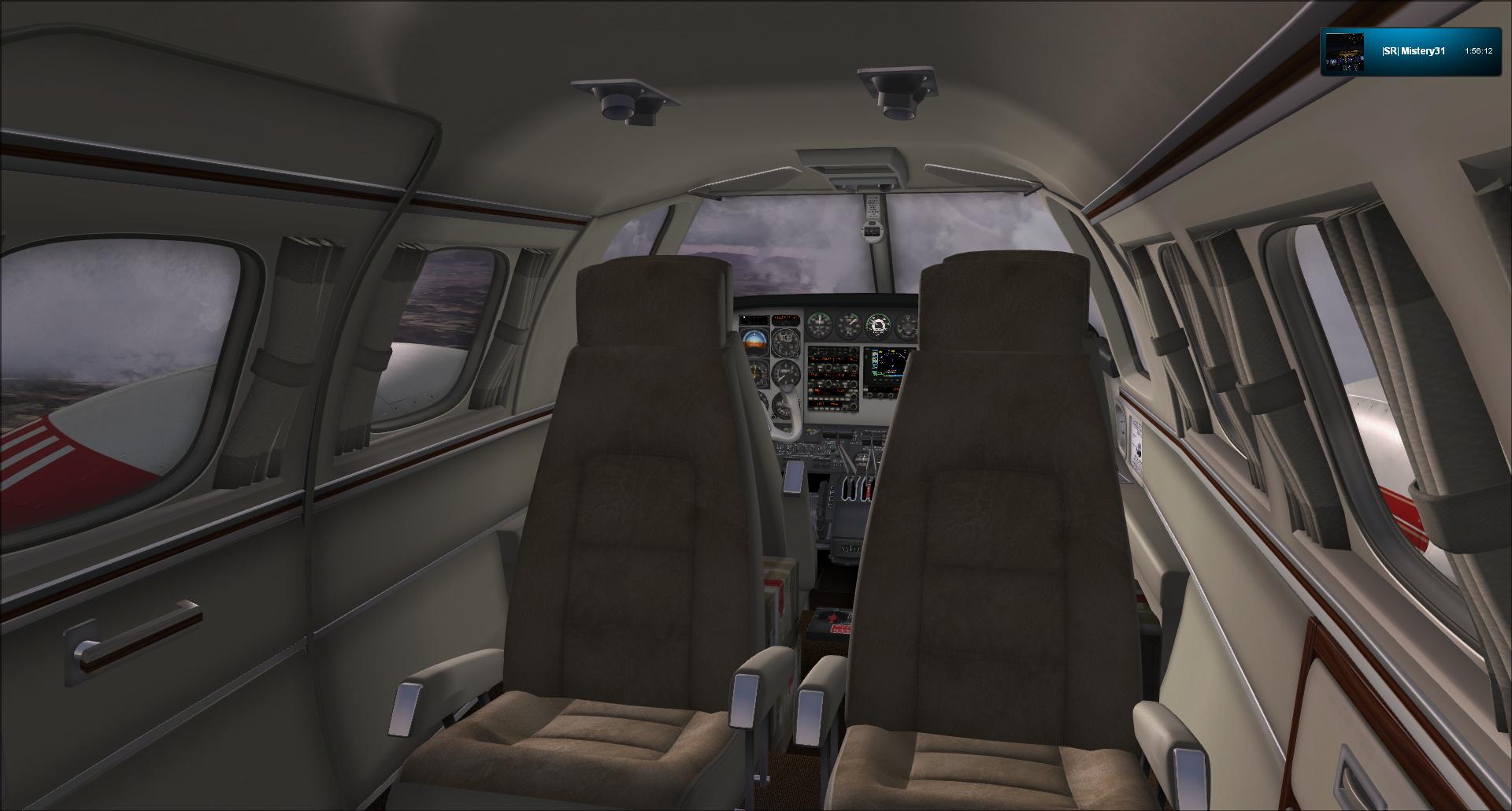 Vol VFR entre Bale et Clermont ferrand 96701020121125182334130