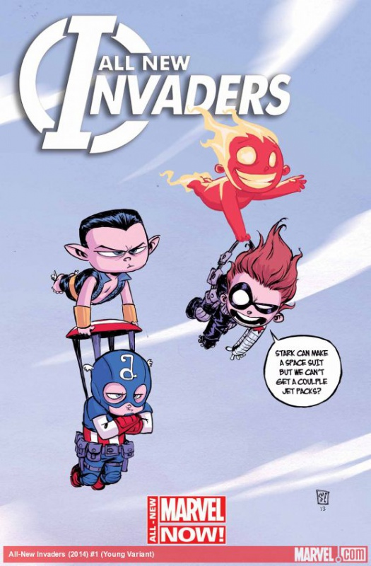 [Comics] Skottie Young, un dessineux que j'adore! 967310invaders