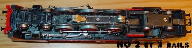 Survol de la production  969720SchnabelMarklinBR62TK800HR8006dessousR