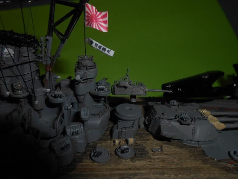 Yamato 1/700 fuji, PE,Pont en bois et babioles - Page 5 970633DSCN6263