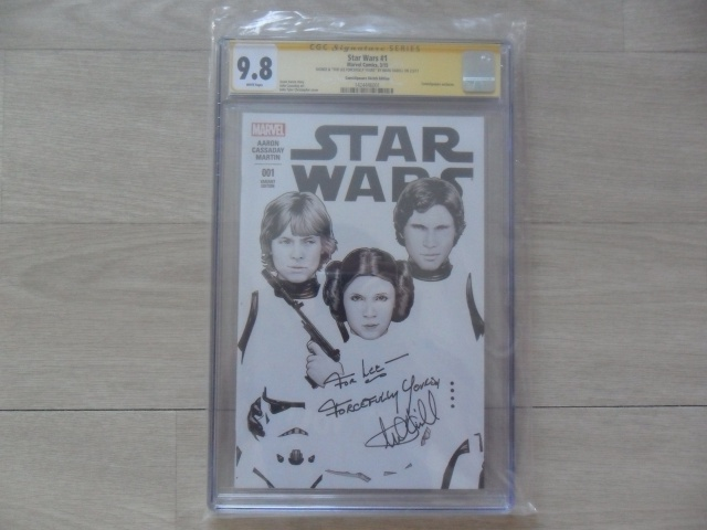 collection andyhp arrivée comics 22/08/17 97220611starwarssignemarkhamill350