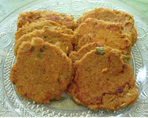 Galettes de patates douces aux flocons de sarrasin sans gluten et sans lactose 972478galettes