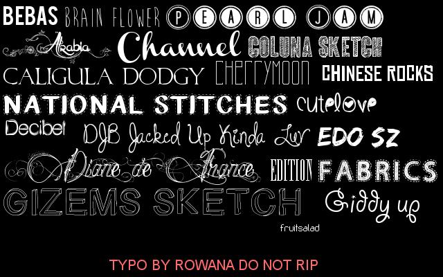 Les typos de Rowana 974236Typos