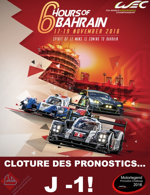 Motorlegend Pronostics Challenge 2016 - Page 3 974843AfficheWECBahrainA4DEFH1D
