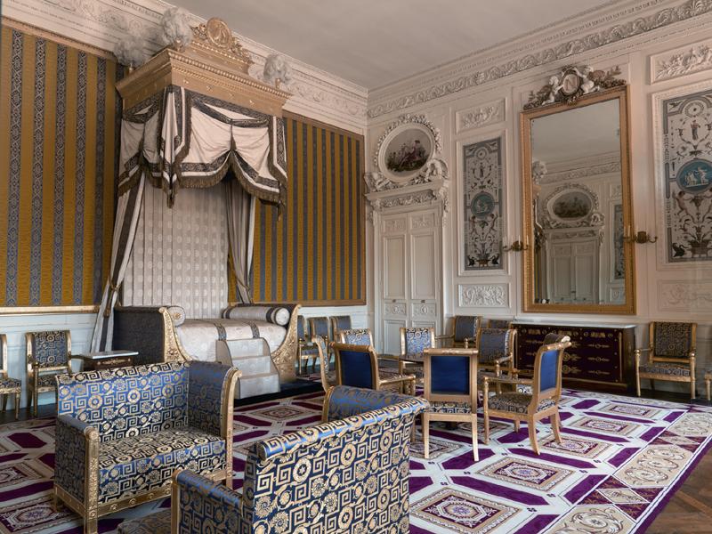 Reconstitution virtuelle du Palais des Tuileries, états Premier Empire et Second Empire 974957appartschambreroideromeparibas