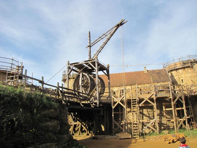 Chantier médiéval de Guédelon 977710IMG5291