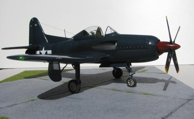 Montage terminé: Ryan XF2R-1 Czech Model 1/48 978165IMG1404