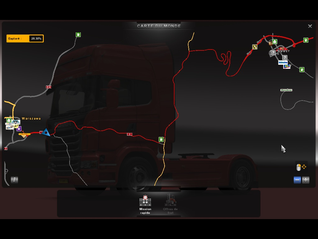 ETS2 - On the road 4 et extension Russie 978730ets200004