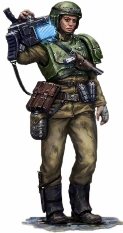 [W40K] Collection d'images : La Garde Impériale 979597CadianShockTrooper2
