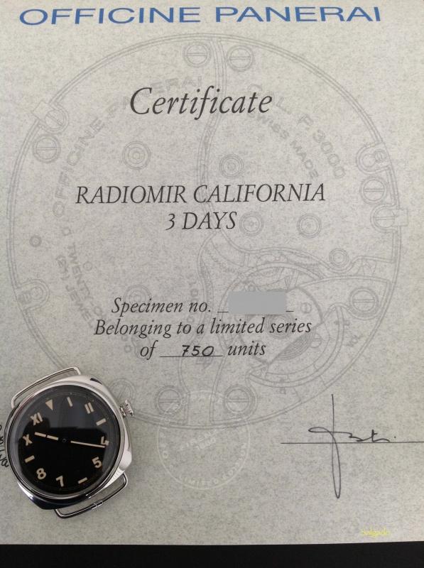 REVUE PAM00448 Radiomir California - Partie 2 - la revue 979969RP44823