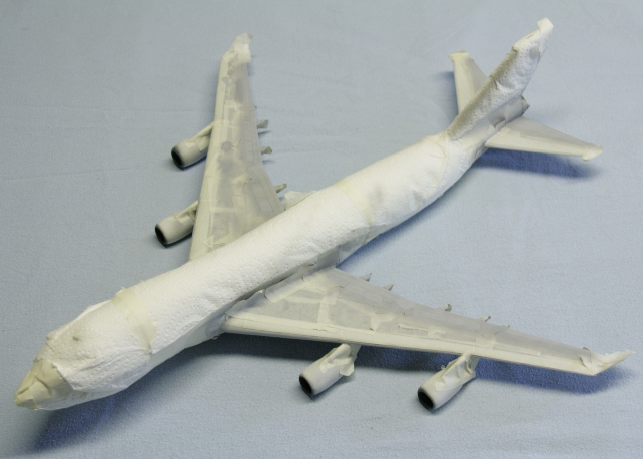 Boeing 747-4F British Airways revell 1/144 981208MG0999