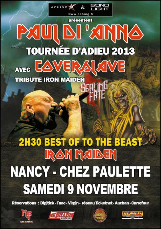 TOURNEE D'ADIEU - DERNIER CONCERT DE Mr PAUL DI 'ANNO 982353DIANNO2013CMJN1
