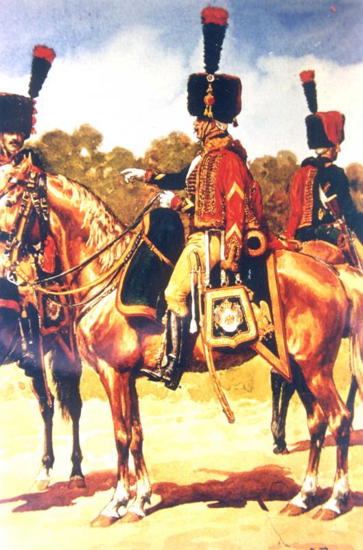 Les chasseurs à cheval de la Garde 984864CCGI9