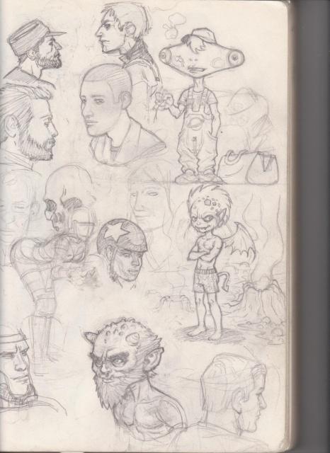 [inspi] Timeline - vos vieux dessins - Page 2 985452bloc12001
