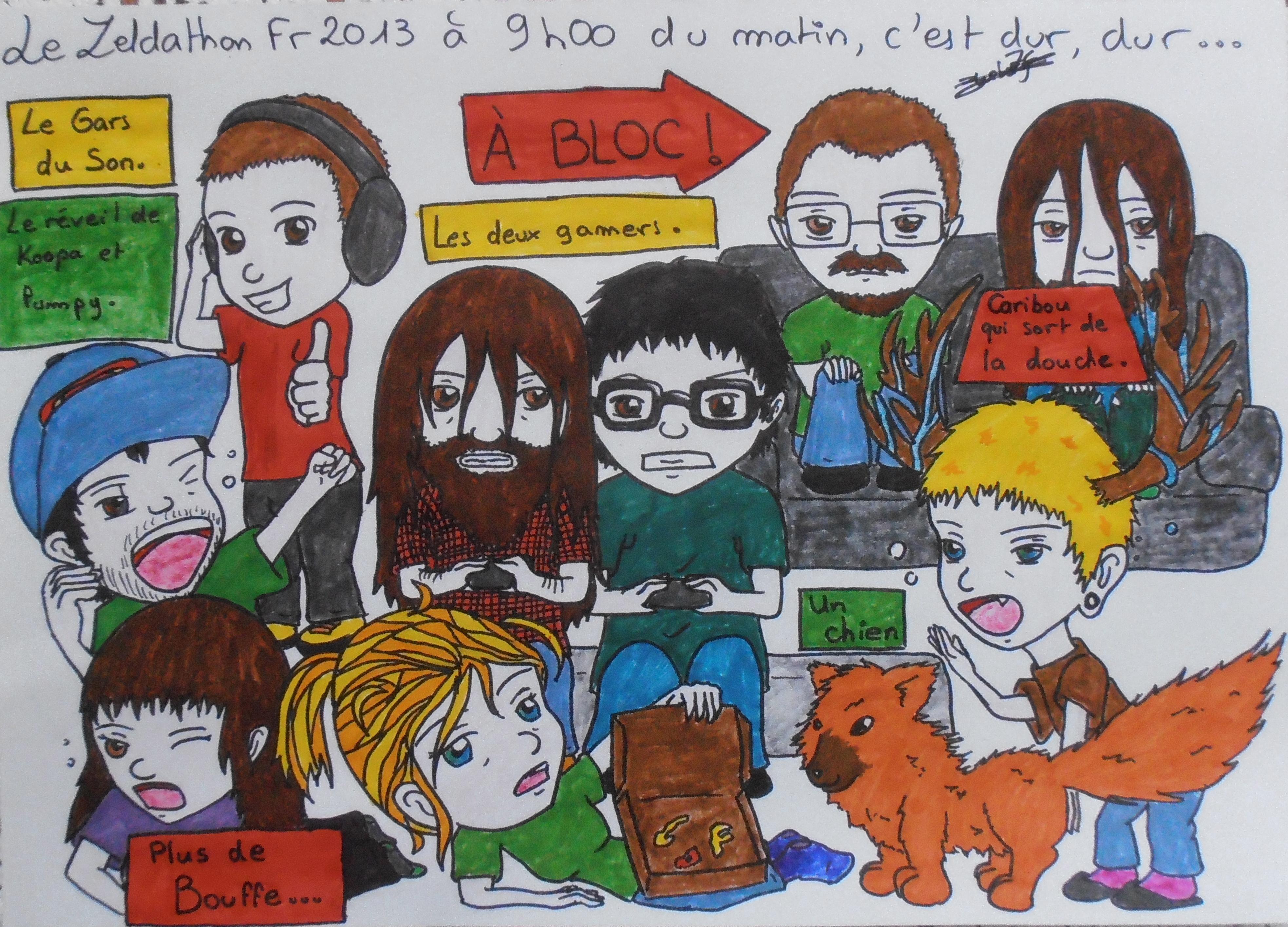 Mes dessins sur Zelda et autres sagas Nintendo 986214FanartZeldathon