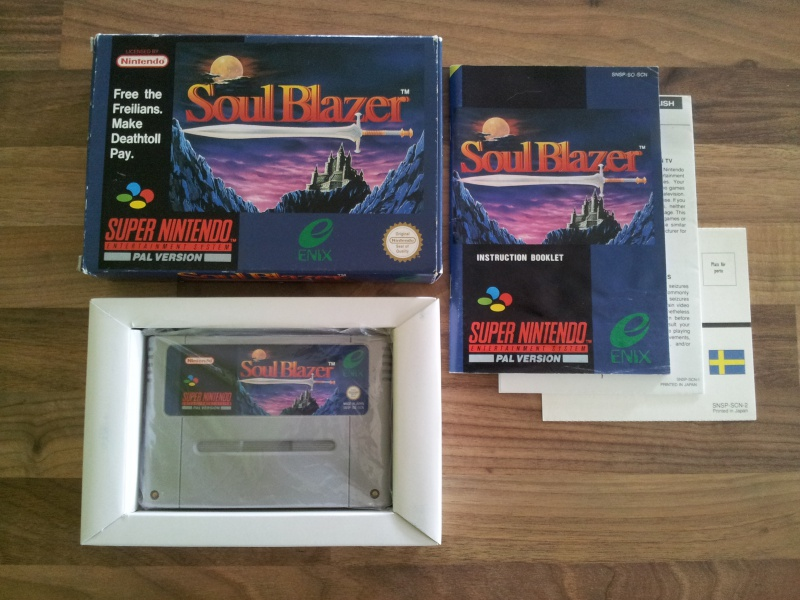 Prupru's Collection ! 100% Super Nintendo et 200% Super Comboy !! - Page 16 988005SoulBlazerSCN